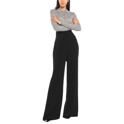SILVIA TCHERASSI パンツ ブラック XS レーヨン 100% パンツ