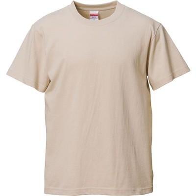 UnitedAthle ユナイテッドアスレ  5.6oz ハイクオリティーTシャツ 500101CX サンドベージュ