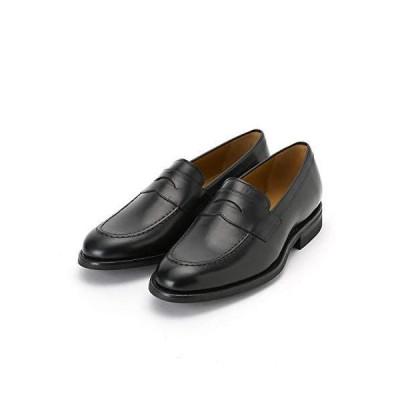 (コムサ イズム) コムサコミューン ローファー 革靴 51-21ZI02-108 26cm ブラック