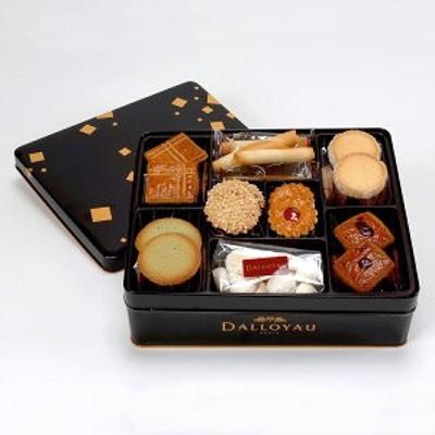 送料無料「ダロワイヨ フールセック缶(大)」スイーツ デザート クッキー サブレ スフレ