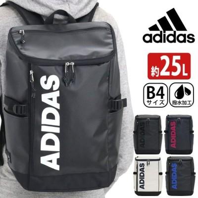 リュック adidas アディダス リュックサック バックパック スクエア デイパック バック ビッグロゴ ロゴ メンズ  レディース おしゃれ