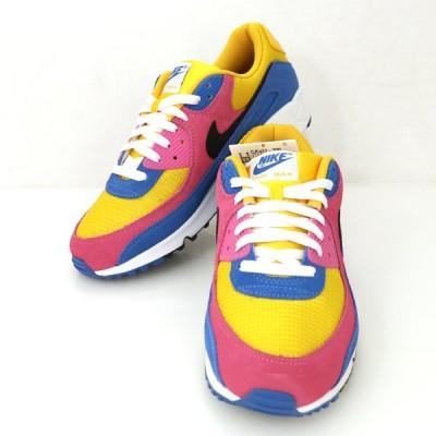 ナイキ NIKE エアマックス90 メンズ シューズ スニーカー 靴 29.5cm マルチカラー【hon】【中古】