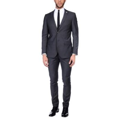 LUIGI BIANCHI Mantova スーツ  メンズファッション  ジャケット  テーラード、ブレザー スチールグレー