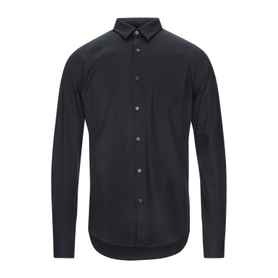 アイスバーグ ICEBERG シャツ ブラック S コットン 97% / ポリウレタン 3% シャツ
