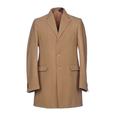 X-CAPE コート キャメル 48 ウール 60% / レーヨン 40% コート
