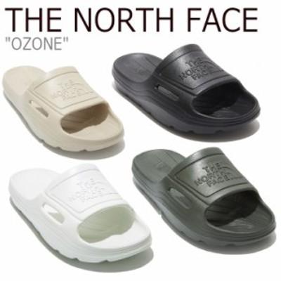 ノースフェイス スリッパ THE NORTH FACE メンズ レディース OZONE オゾン BLACK BEIGE KHAKI WHITE NS98L03A/B/C/J/L シューズ