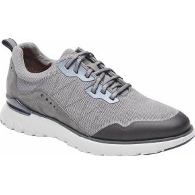 ロックポート メンズ スニーカー シューズ Men's Rockport Total Motion Sport Mudguard Sneaker Steel Grey Leather/Mesh Trim