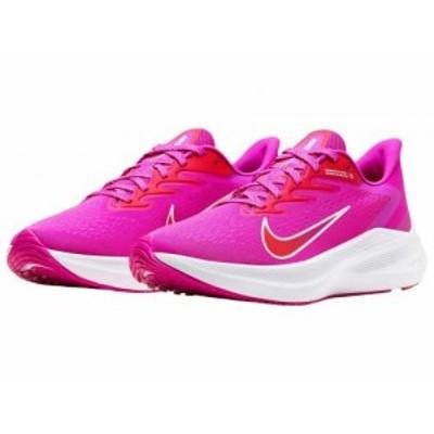 Nike ナイキ レディース 女性用 シューズ 靴 スニーカー 運動靴 Zoom Winflo 7 Fire Pink/Summit White/Ember Glow【送料無料】