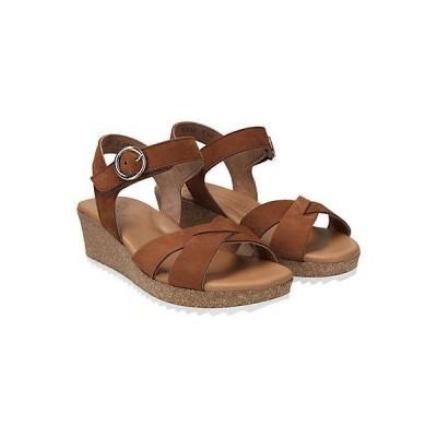 レディース シューズ  Paul Green Bea Leather Sandal