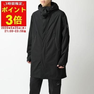 C.P.COMPANY シーピーカンパニー 08CMOW002A 004117A 999 Long Jacket フーテッド コート ジャケット ジップアップ ブルゾン Pro-Tek メンズ