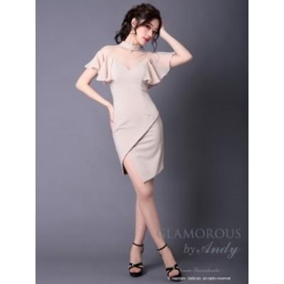 GLAMOROUS ドレス GMS-V509 ワンピース ミニドレス Andy グラマラスドレス クラブ キャバ ドレス パーティードレス