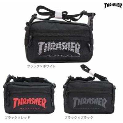 スラッシャー<THRASHER> ショルダーポーチ 3カラー th-66-fji