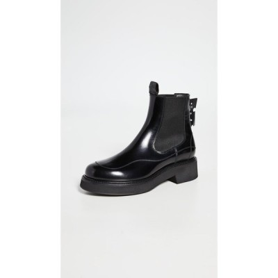 オフホワイト Off-White レディース ブーツ シューズ・靴 Chealsea Boots Black No Color