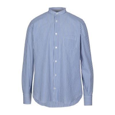 イレブンティ ELEVENTY シャツ ブルー 41 コットン 100% シャツ