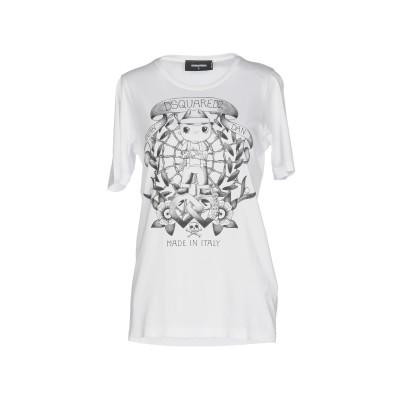 ディースクエアード DSQUARED2 T シャツ ホワイト XL 100% コットン T シャツ