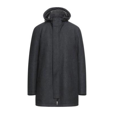 ヘルノ HERNO コート スチールグレー 56 ウール 80% / ナイロン 20% コート