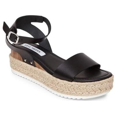 スティーブ マデン レディース サンダル シューズ Chaser Ankle Strap Flatform Sandals