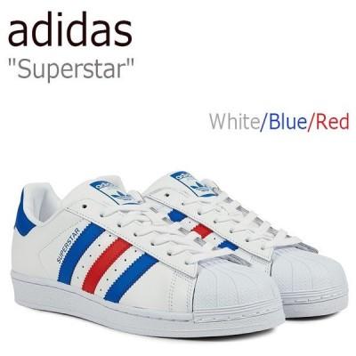 adidas Superstar アディダス スーパースター Running White Blue Red ホワイト ブルー レッド BB2246