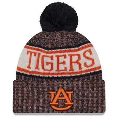 ニューエラ 帽子 アクセサリー メンズ Auburn Tigers Sport Knit Hat Navy
