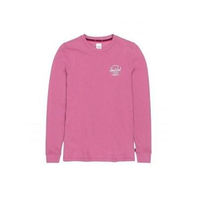 Herschel Supply Co. ハーシェルサプライ レディース 女性用 ファッション Tシャツ Long Sleeve Tee - Classic Logo Heather Rose/White