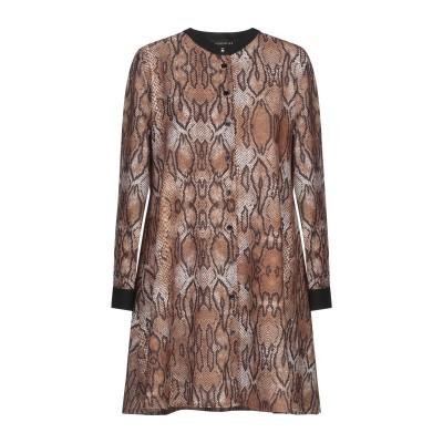 DODICI22 ミニワンピース&ドレス カーキ L ポリエステル 92% / ポリウレタン 8% ミニワンピース&ドレス
