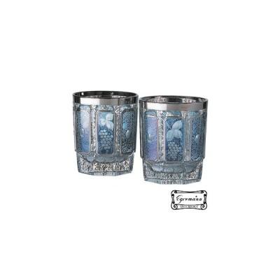 ウイスキー・水割りグラスペア  ボヘミアグラス  ロック/オールド 2個セット 340ml  エーゲルマン モドレー ギフト箱入