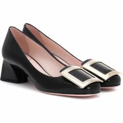 ロジェ ヴィヴィエ Roger Vivier レディース パンプス シューズ・靴 Tres Vivier patent-leather pumps Nero