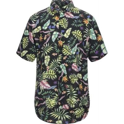 ボロンガロトレバー BOLONGARO TREVOR メンズ シャツ トップス Patterned Shirt Black