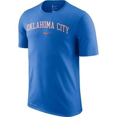 ナイキ メンズ Tシャツ トップス Nike Men's Oklahoma City Thunder Dri-FIT City T-Shirt