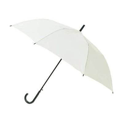 ポキッと折れるんです 傘 ホワイト 65cm 長傘 耐風 強風 折れる 430g