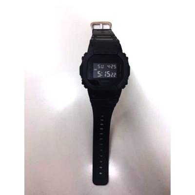 ジーショック G-SHOCK DW-5600BB-1JF クオーツ腕時計 メンズ  中古 210503