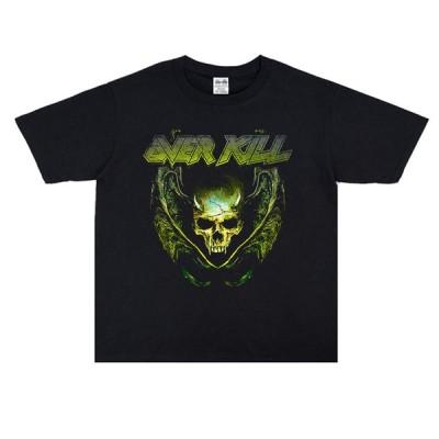 OVER KILL Tシャツ Skull