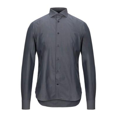 CC COLLECTION CORNELIANI シャツ 鉛色 39 コットン 100% シャツ