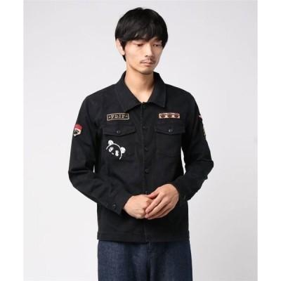 シャツ ブラウス PANDIESTA JAPAN /パンディエスタジャパン コンバットパンダミリタリーシャツ (M2)