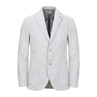 アティピコ AT.P.CO テーラードジャケット ライトグレー 48 コットン 75% / 麻 25% テーラードジャケット