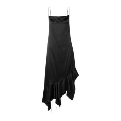 MARQUES' ALMEIDA シルクドレス ファッション  レディースファッション  ドレス、ブライダル  パーティドレス ブラック