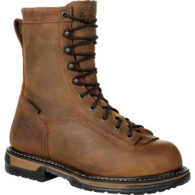 ロッキー Rocky Boots メンズ ブーツ ワークブーツ シューズ・靴 Rocky IronClad Waterproof Work Boot brown
