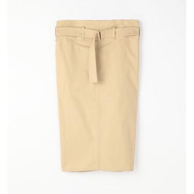 【トゥモローランド/TOMORROWLAND】 SOFIE D' HOORE コットンツイルベルテッドタイトスカート