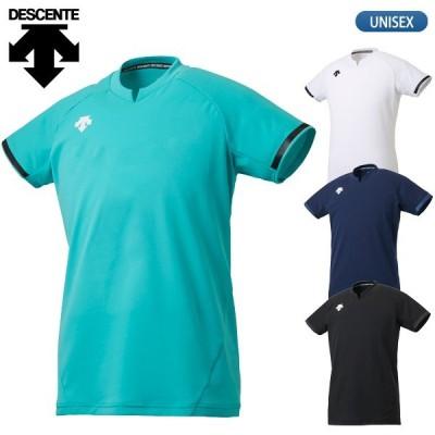 デサント DESCENTE バレーボールウェア 半袖 ゲームシャツ メンズ DSS-4024