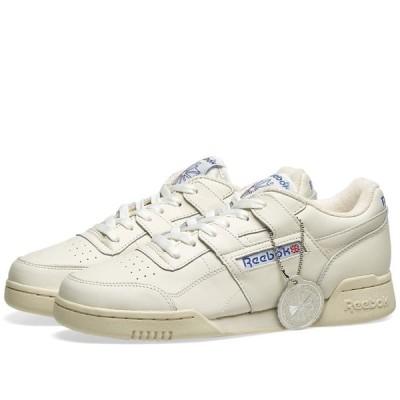 リーボック Reebok メンズ スニーカー シューズ・靴 Workout Plus 1987 Vintage Chalk/Paper White/Royal