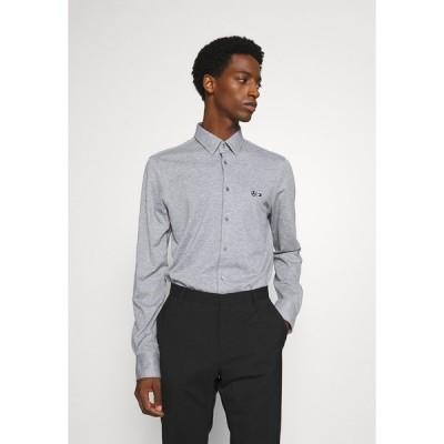トミー ヒルフィガー シャツ メンズ トップス TECH FLEX SLIM - Shirt - grey