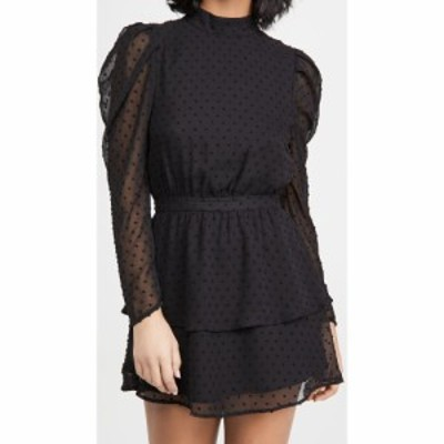 ユミキム Yumi Kim レディース ワンピース ワンピース・ドレス Lovey Dress Swiss Dot Black