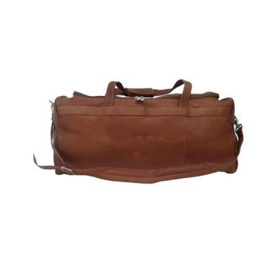 Piel Leather Traveler's Select Medium Duffel Bag, Saddle, One Size 並行輸入品