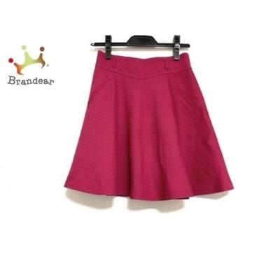 アプワイザーリッシェ Apuweiser-riche スカート サイズ0 XS レディース 美品 ピンク     スペシャル特価 20200620