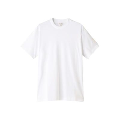 BLAMINK ブラミンク コットンクルーネック 刺繍 ショートスリーブTシャツ レディース ホワイト 0