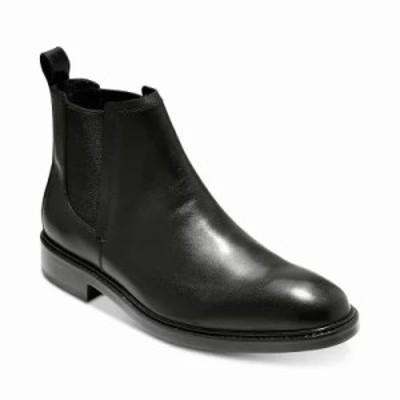 コールハーン ブーツ Kennedy Grand Waterproof Chelsea Boots Black
