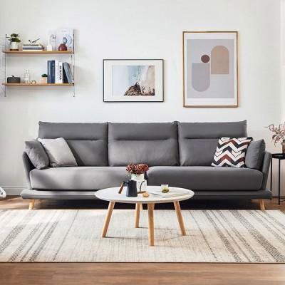 ソファー 3人掛け 新居 北欧 シンプル おしゃれ 安い グレー 柔らかい ソファー カフェ 肘付き 三人掛けソファー ダウン 一年保証 ギフト リビング