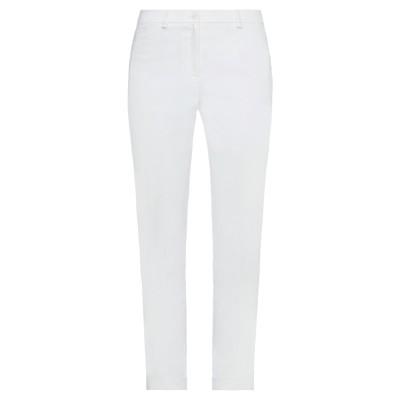 CARACTÈRE パンツ ホワイト 40 コットン 73% / ポリエステル 24% / ポリウレタン 3% パンツ