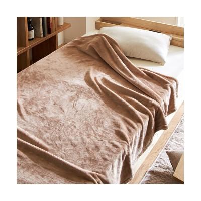なめらかでソフトなフランネル素材のあたたか毛布 毛布・ブランケット, Beddings, 寝具(ニッセン、nissen)