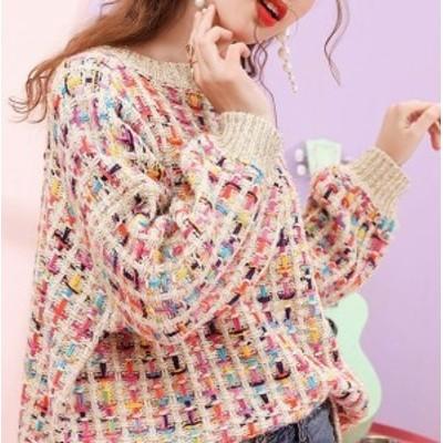 2020年新作 送料無料 自分にご褒美 オルチャン服 オルチャン ファッション 韓国 レディースファッション 可愛い ニット セーター プルオ